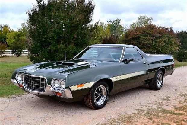 Обновленный Ford Ranchero 1972 года