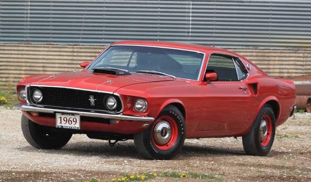 428 двигатель V8 в Mustang Cobra Jet
