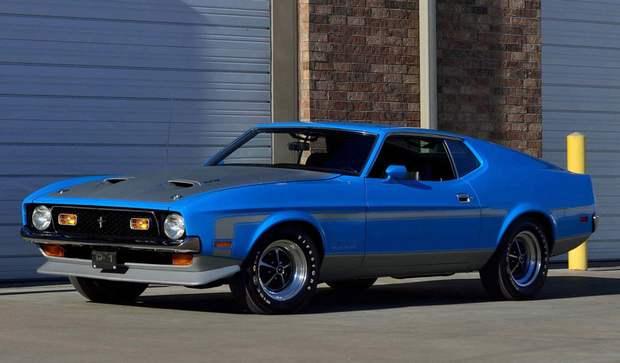 Mustang Boss 351 с V8