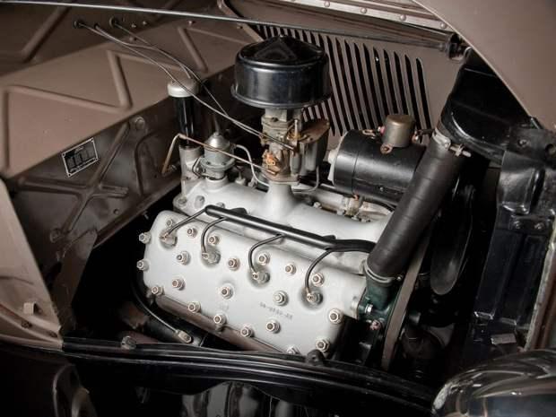 3,6-литровый V8 двигатель – первый массовый двигатель такого типа в мире