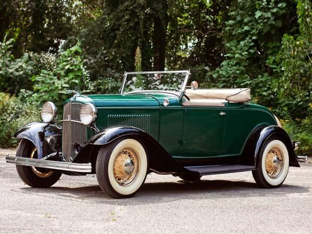 Ford V8 Model 18 Roadster, 1932 год