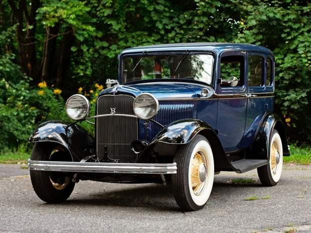 Первый Ford V8 седан 1932 года