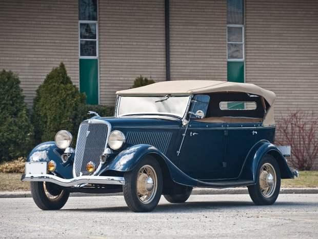 Фаэтон Ford V8 1934 года