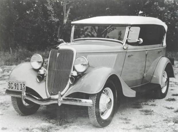 Ford C Phaeton 1934 года