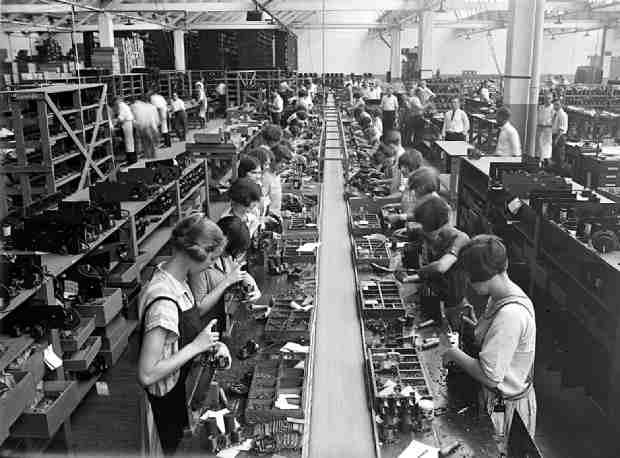 Конвейерная организация производства