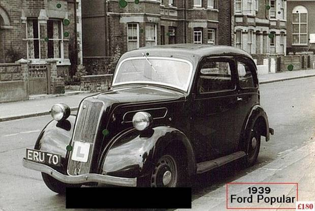 Фотография оригинального Ford 7Y 1939 года