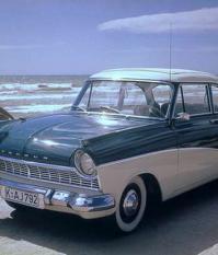 Ford Taunus 17M P2 1957 года