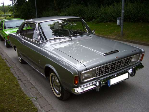 Ford Taunus (P7) 20M Coupe 1968 года