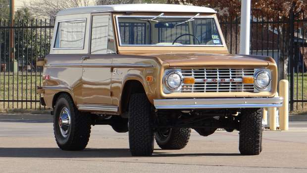 Ford Bronco 1971 года