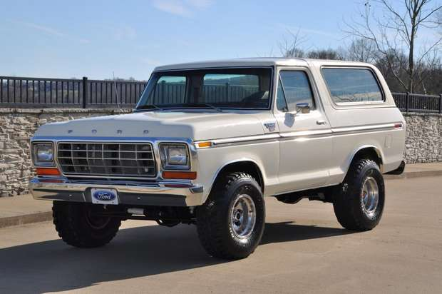 Ford Bronco 1978 года