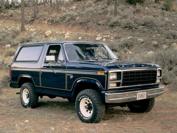 Ford Bronco 1980 года