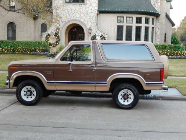 Ford Bronco 1984 года