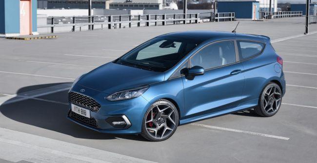Азартный Ford Fiesta 2018