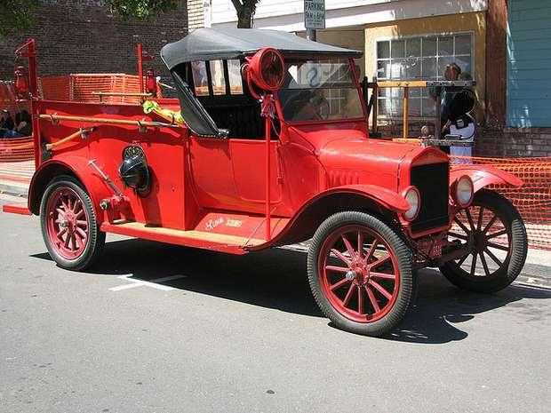 Пожарный автомобиль на базе Ford Model TT