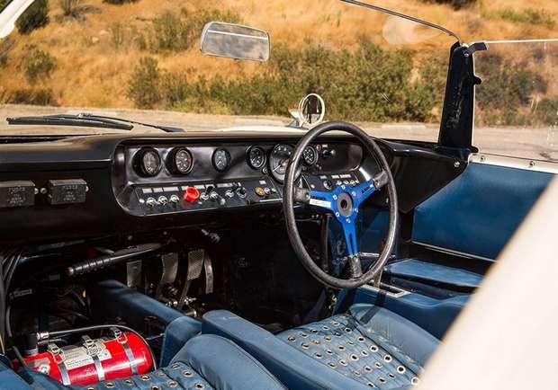 Этим GT40 управлял Джим Кларк
