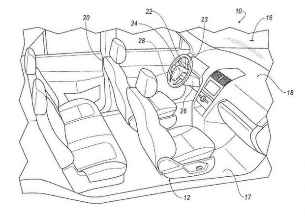 Стандартный интерьер автомобиля