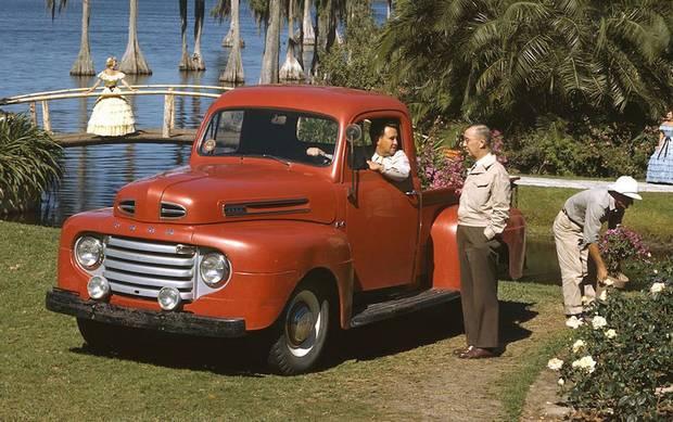 Первый Ford 1948 года семейства F-серии