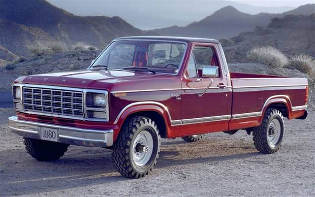 Ford F-150 1980 года