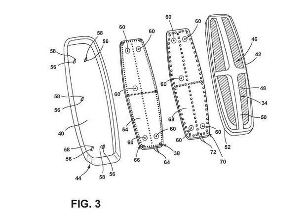 Схема запатентованной подсветки