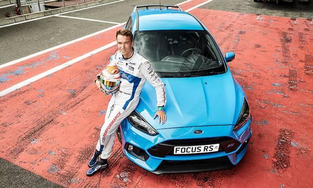 Настоящий Ford Focus RS на настоящем треке