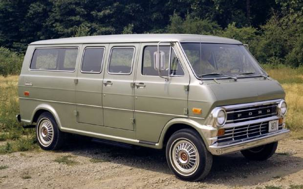 Ford Econoline Club Wagon 1971 г