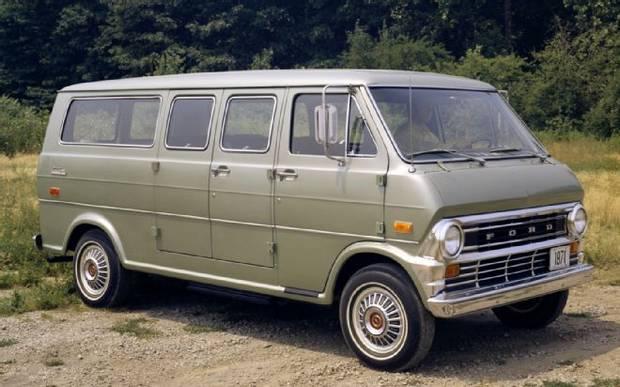 Ford Econoline Club Wagon 1971 г