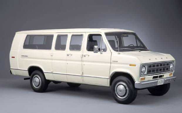 Ford Econoline Super Wagon 1978 года