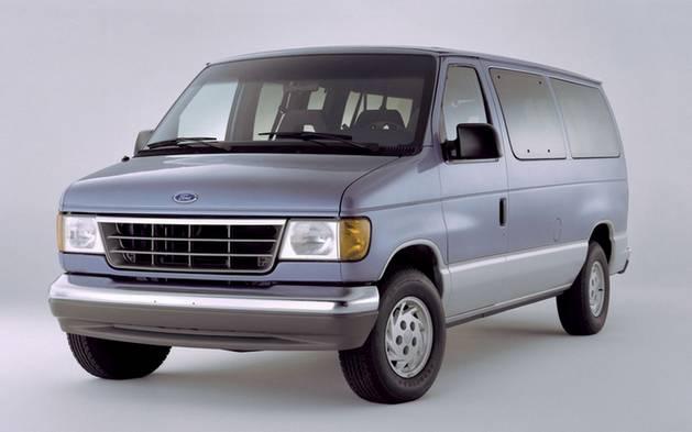 Обновленный дизайн Ford Econoline, 1992 г