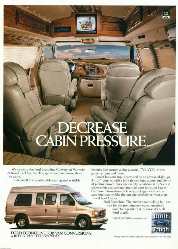 Рекламный буклет Ford Econoline