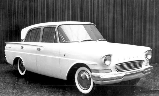 Прототип Ford Consul Classic: Apollo из Ford Anglia, вид спереди