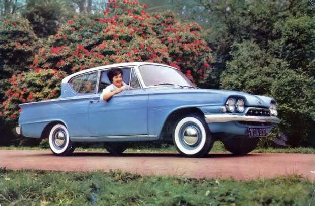 Ford Consul Classic 2-двери