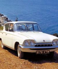 Ford Consul Classic, 1961 год