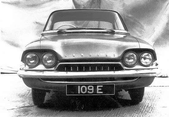 Прототип Ford Consul Capri: Sunbird, фронт