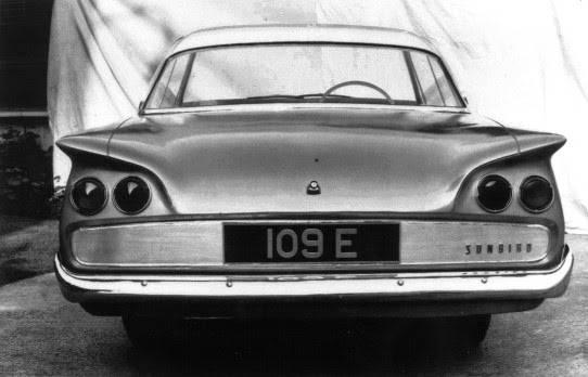 Прототип Ford Consul Capri: Sunbird