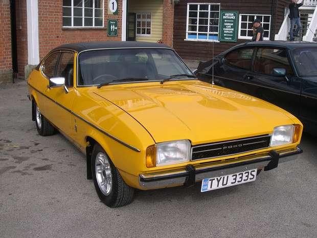 Ford Capri 3.0 Ghia 1977 года