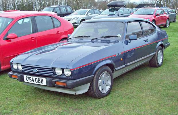 Ford Capri 2.8i 1986 года