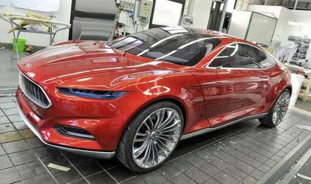 Прототип Ford Capri 2018