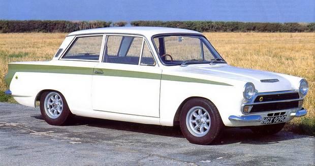 Ford Lotus Cortina Mk1, 1965 года