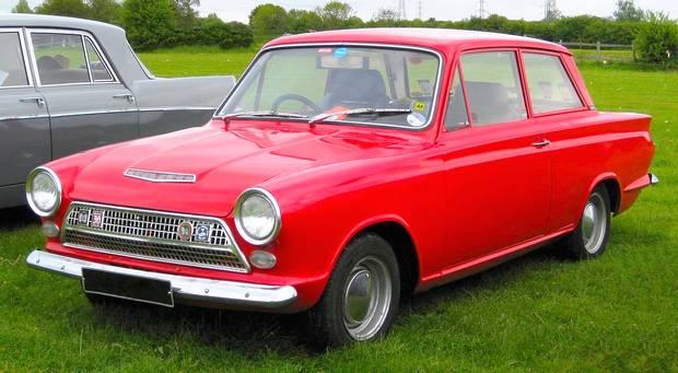 Ford Cortina 1962 года