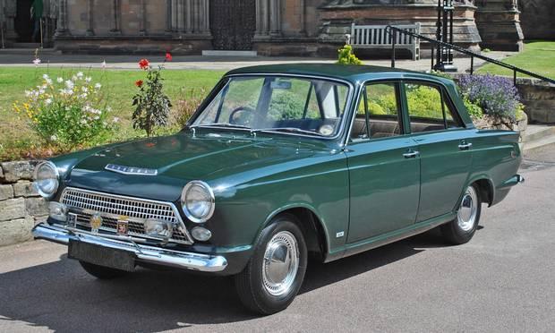Ford Cortina 1963 года