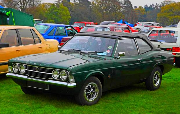 Ford Cortina GT, 1971 год