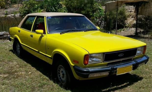 Ford Cortina Ghia, 1978 год