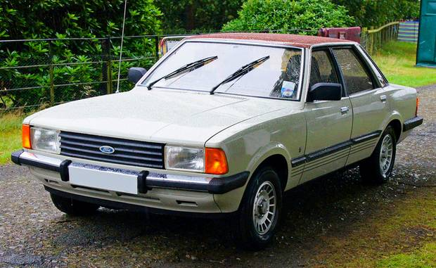Ford Cortina 2.0 Ghia, 1980 год