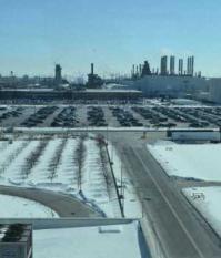 Фабрика Руж (The Ford River Rouge Complex) в городке Дирборн (Dearborn), пригороде Детройта