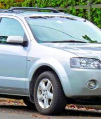 Ford Territory (SX) Ghia 2004 года