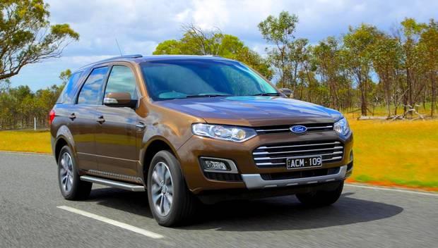 Ford Territory cruisin 2015 года