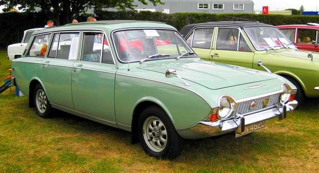 Ford Corsair универсал 1966 года