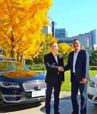 Партнерство Ford и Baidu для тестирования беспилотных автомобилей