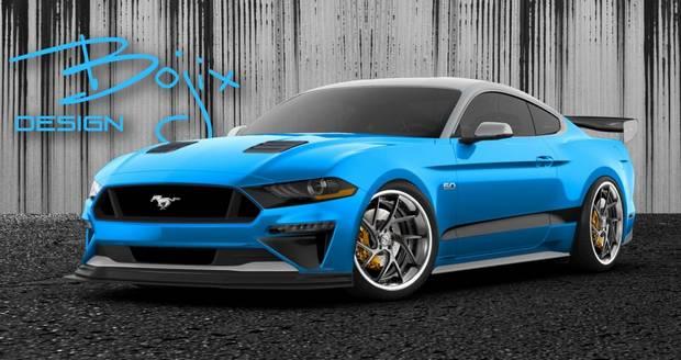 Mustang от Bojix Design