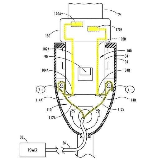 Механизм подачи напряжения на ремни с подогревом